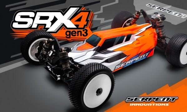 써펀트코리아,Spyder SRX4 Gen3 4wd 1/10 EP (SER500015)